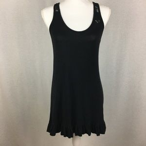 Betsy Johnson Intimates Black Lace Nightgown Small